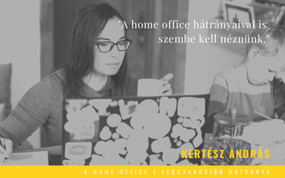 A home office 7 leggyakoribb hátránya